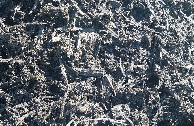 dyed wood mulch for sale, brown, black and red mulch
