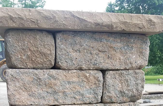bulk sandstone brick pillar